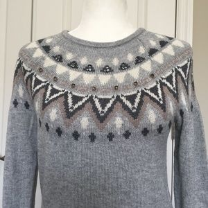 Ann Taylor Embellished Sweater NWT